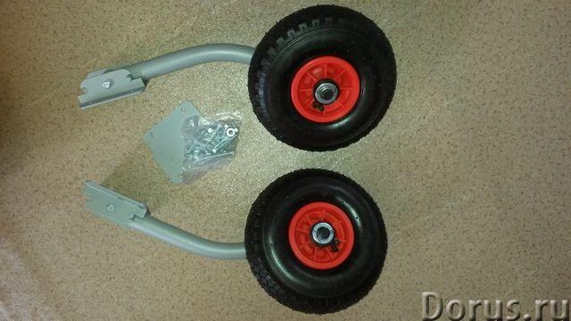 Транцевые колёса для лодок ПВХ - Водный транспорт - Колёса трансформер (260х85мм) - является системо..., фото 3